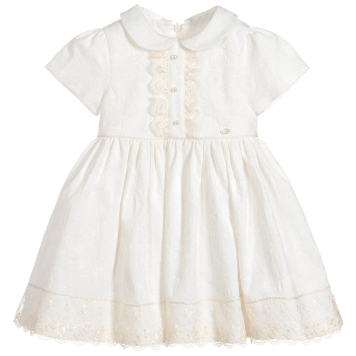 Picolla Speranza Girls Ivory Dress